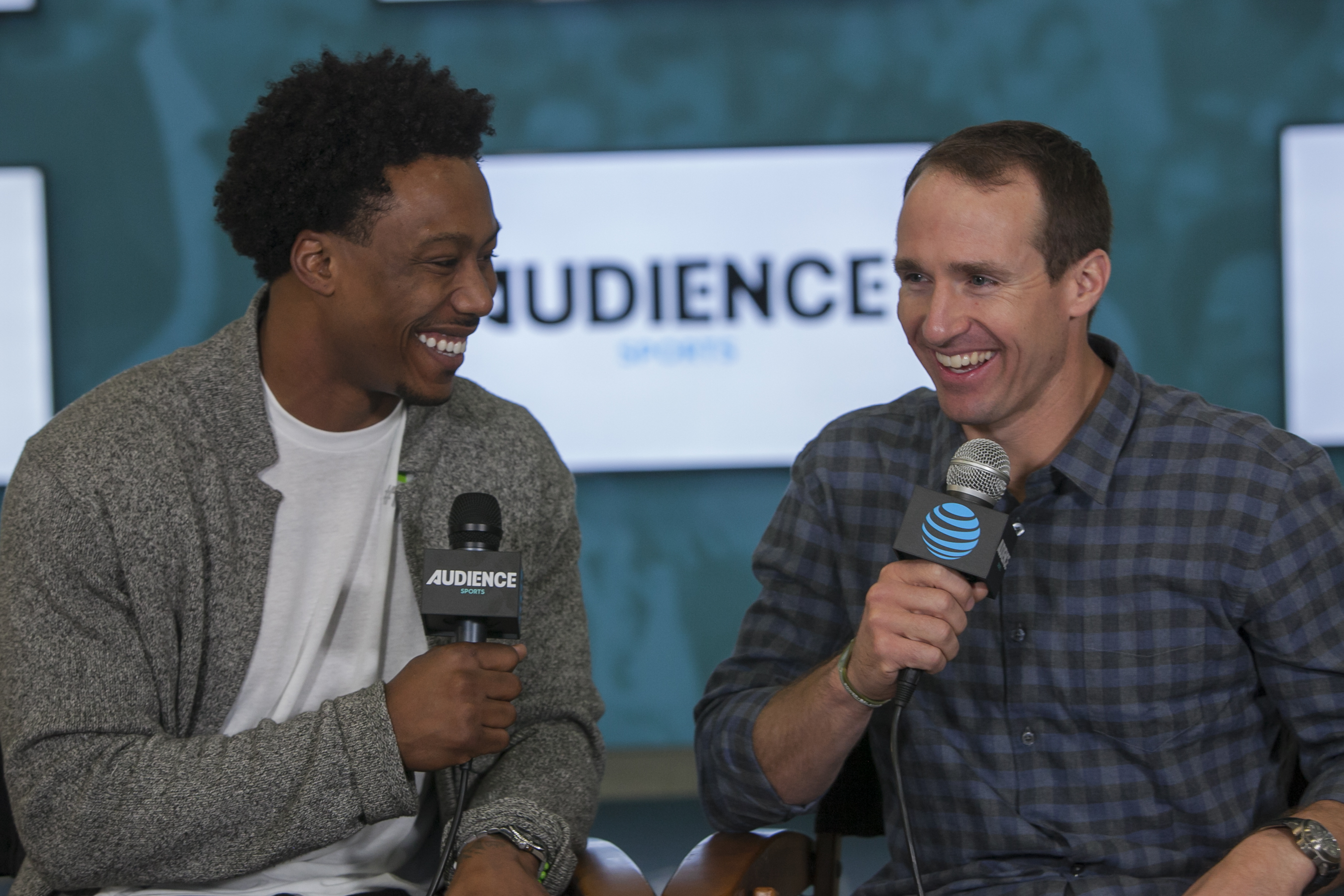 Brandon Marshall quizzes Drew Brees